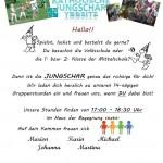 Beginn Jungscharjahr 2014/15