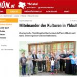 NÖN-Bericht zum Flüchtlingsprojekt