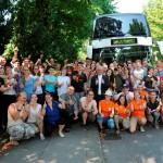 Aufbruch zum Weltjugendtag – auch Ybbsitzer mit P. Vitus dabei
