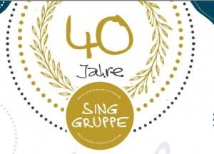 Jubiläumskonzert 40 Jahre Singgruppe @ Aula der NMS Ybbsitz   Ybbsitz   Niederösterreich   Österreich